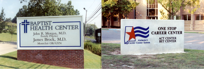 Commercial Building Signs in Alabama
