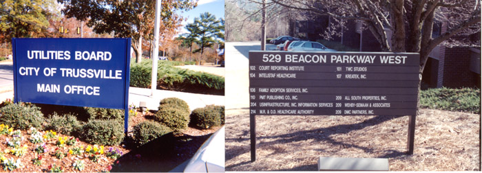 Panel Signs for Business in Alabama